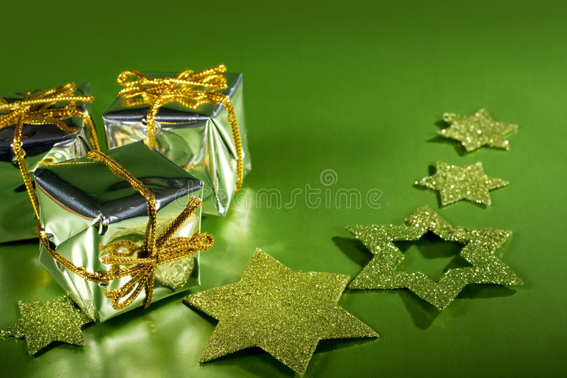 Download Christmas gifts stock photo. Image of small, decoration - 6954134