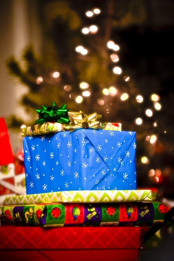 christmas gifts στοκ φωτογραφία με δικαίωμα ελεύθερης χρήσης