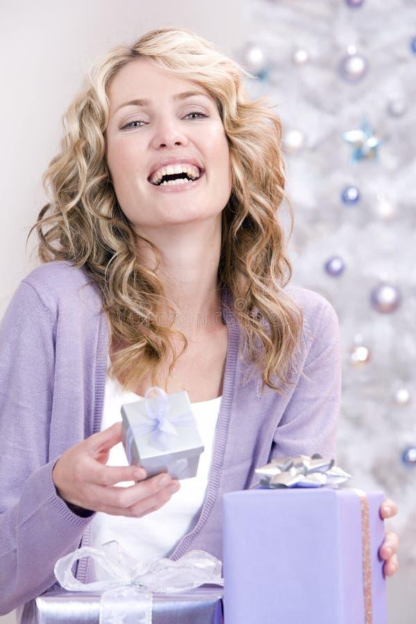 christmas gifts many στοκ εικόνες με δικαίωμα ελεύθερης χρήσης