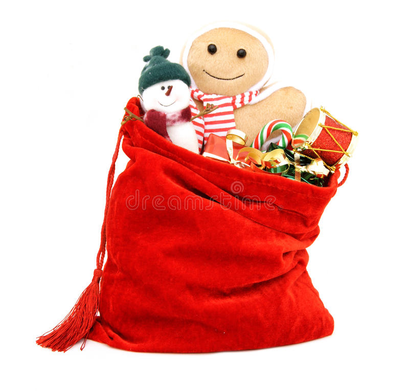 Download Christmas gifts and toys stock photo. Image of gold, decorate - 27829588