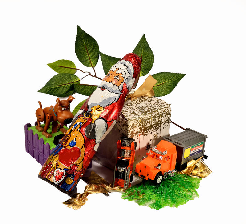 Christmas gifts royalty free stock image