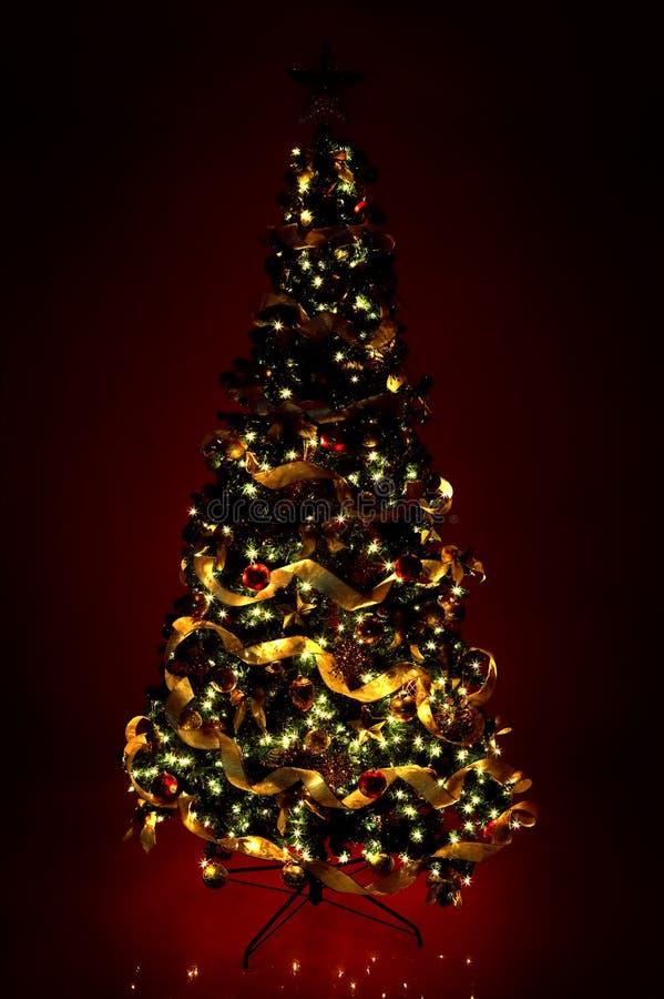 christmas gifts tree στοκ εικόνα
