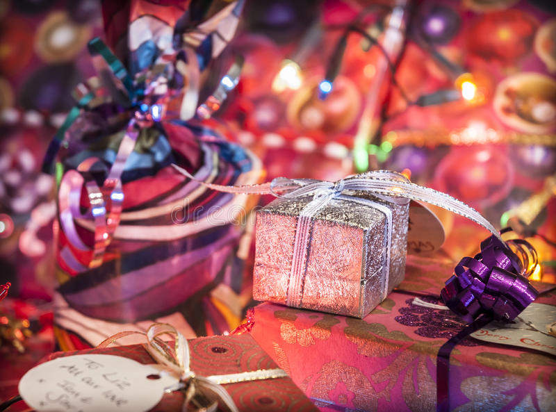 Download Christmas Gifts stock photo. Image of festive, wrapped - 34954002