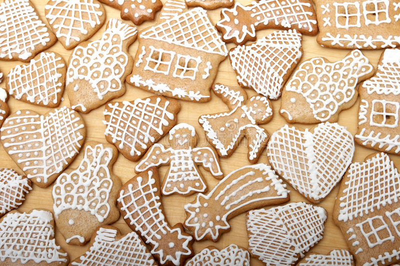 Download Christmas Ginger Bread Stock Photo - Image: 1677920