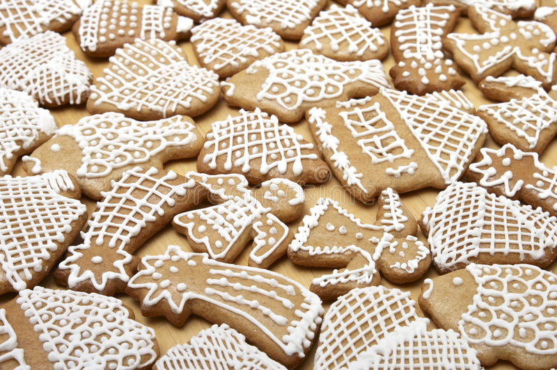 Download Christmas Ginger Bread Cookies Stock Photo - Image: 1677968