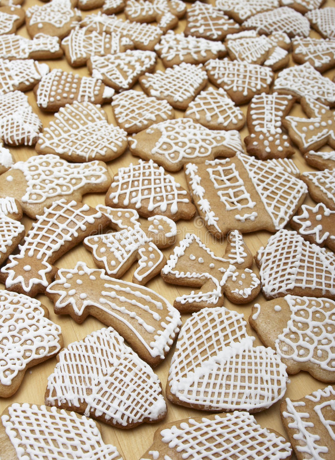 Download Christmas Ginger Bread Cookies Stock Image - Image: 1677979