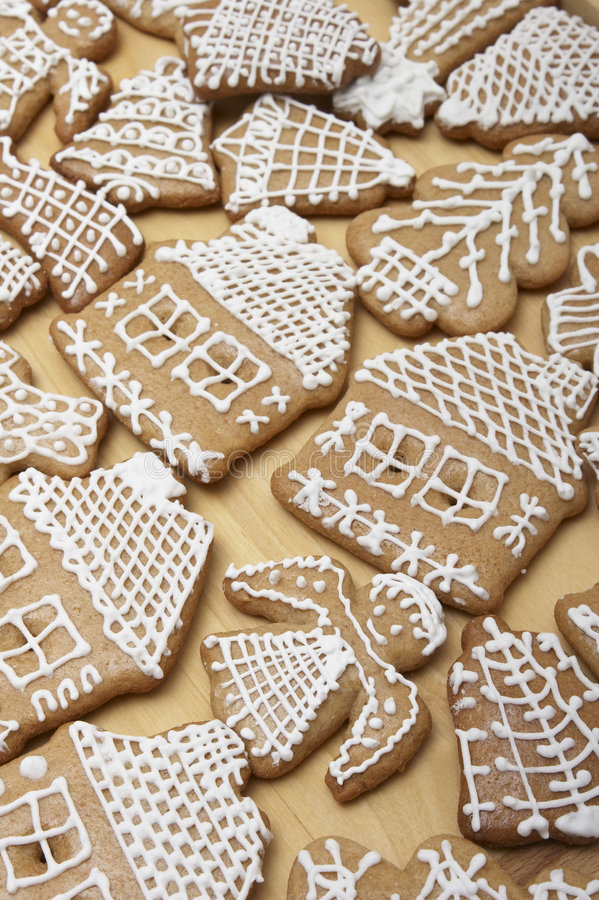Christmas Ginger Bread Cookies Royalty Free Stock Images