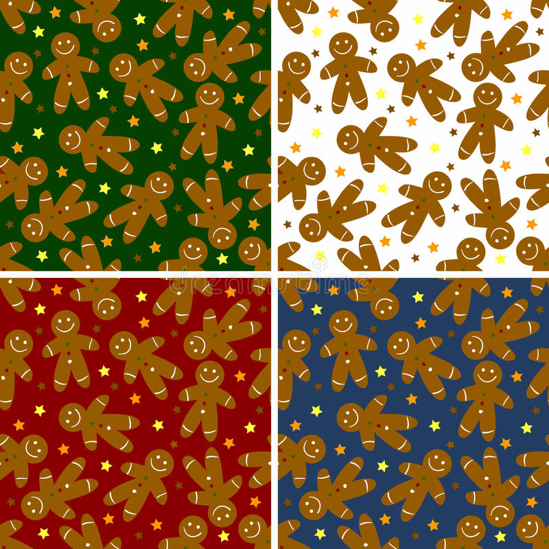 Download Christmas Ginger Bread Seamless  Pattern Stock Photos - Image: 16693053
