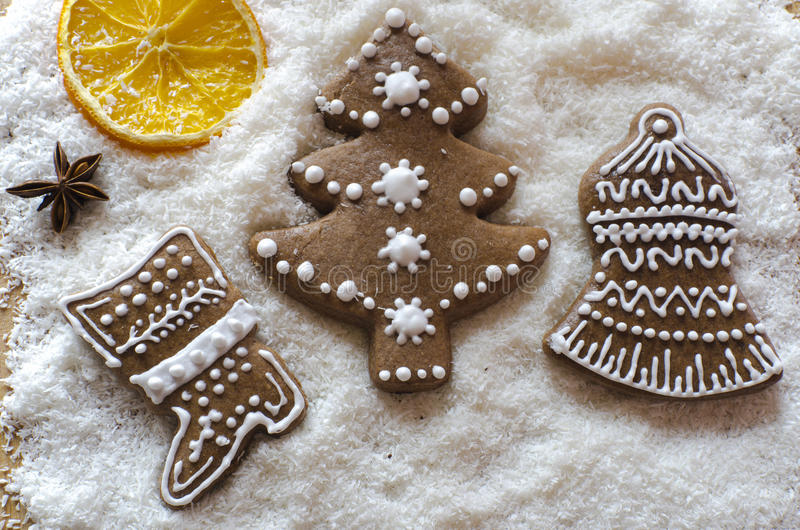 Download Christmas gingerbread stock photo. Image of star, gingerbread - 27761124