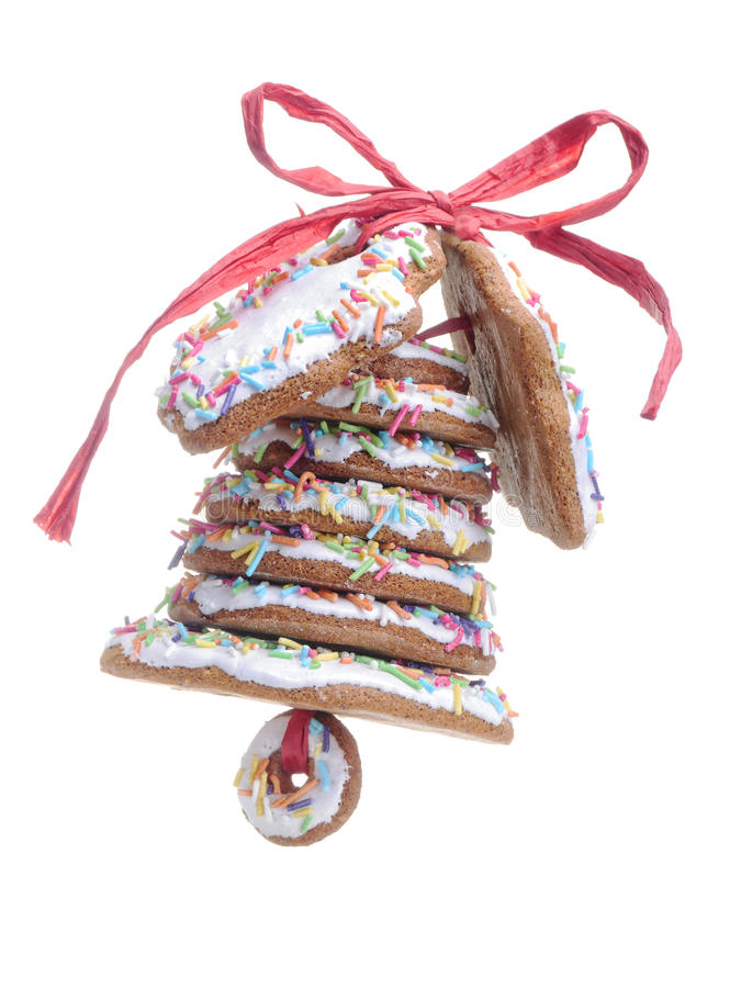 Download Christmas Gingerbread Bell Royalty Free Stock Images - Image: 34060679