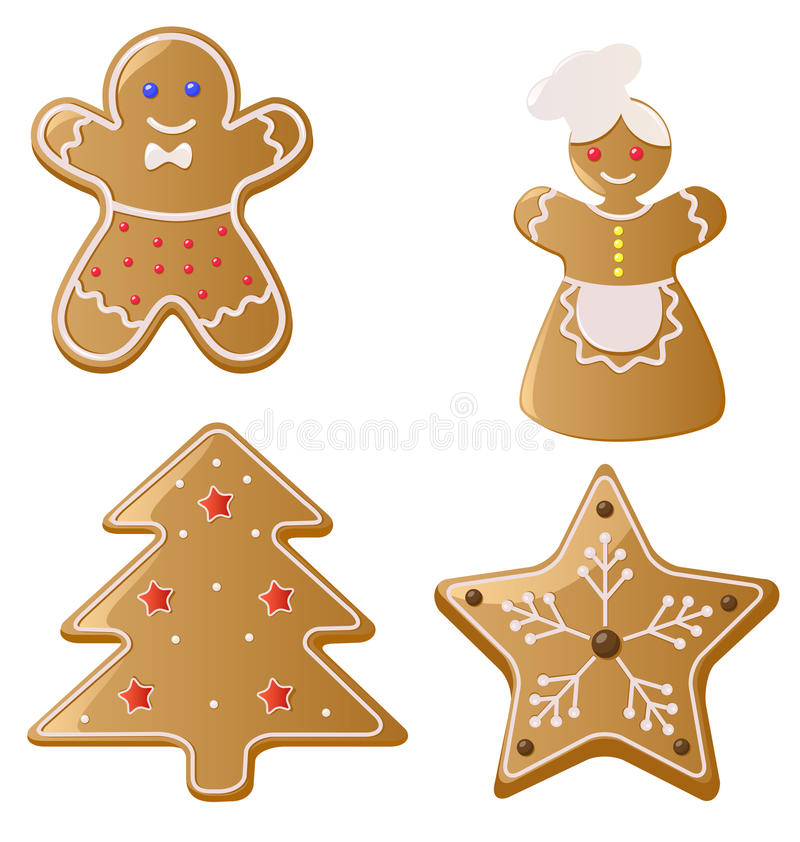Download Christmas Gingerbread Cookies Stock Photo - Image: 16992696