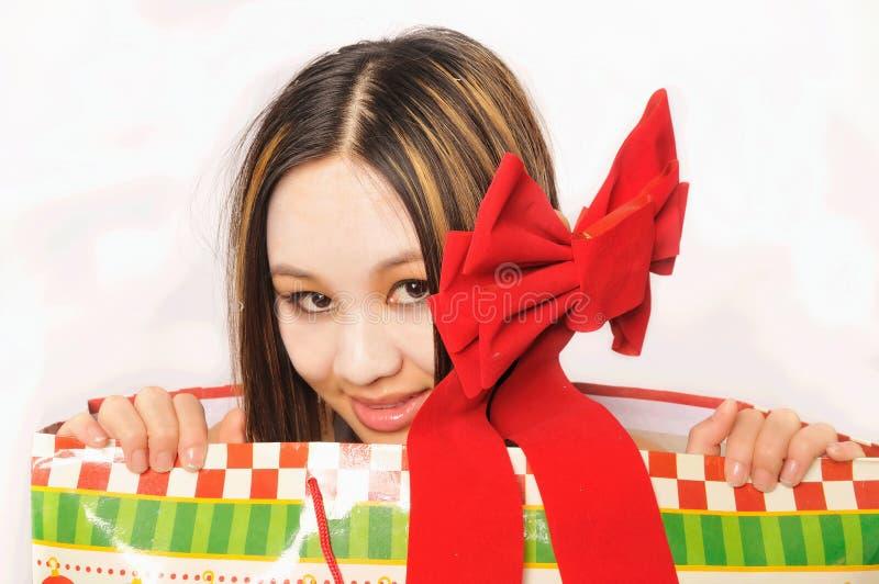 Download Christmas Girl stock image. Image of holidays, present - 11144257