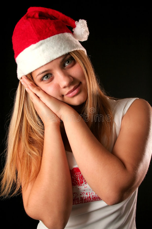 Free Christmas Girl Royalty Free Stock Image - 1648116
