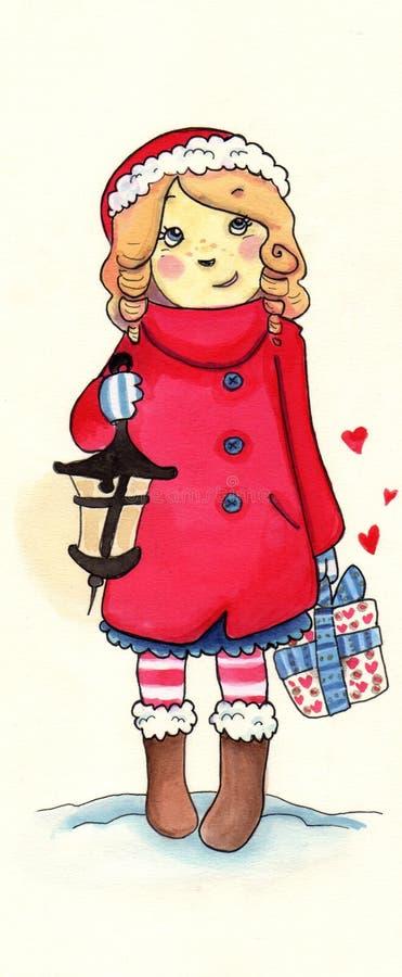 Free Christmas Girl Stock Image - 16563461