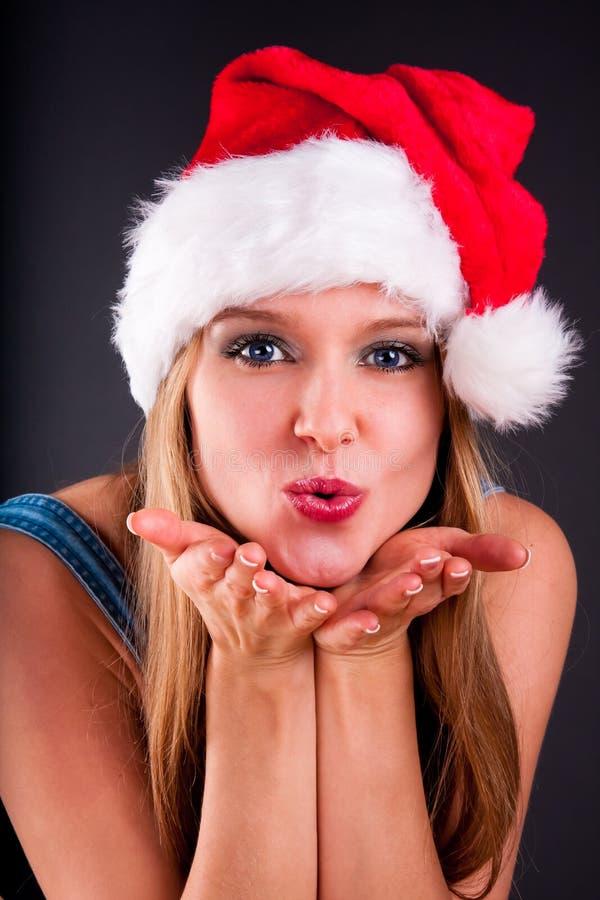 Free Christmas Girl Royalty Free Stock Photo - 18380485