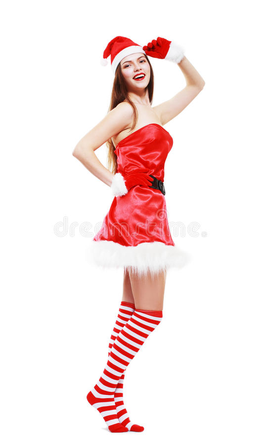 Download Christmas Girl Posing Stock Photography - Image: 35187802