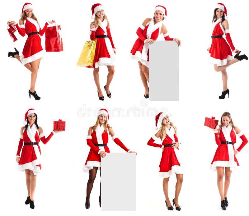 Christmas Girls Stock Photography