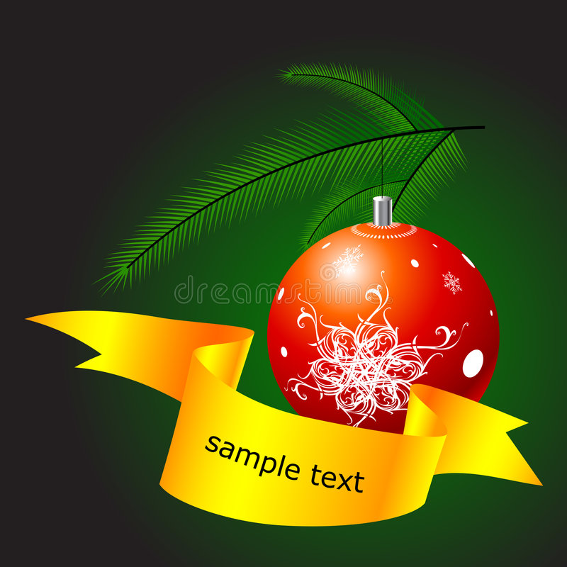 Download Christmas globe stock vector. Illustration of paper, christmas - 7838133