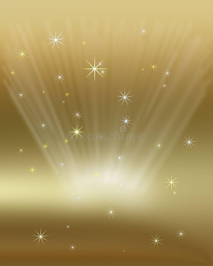 Christmas Gold Stock Illustration Image 62366161