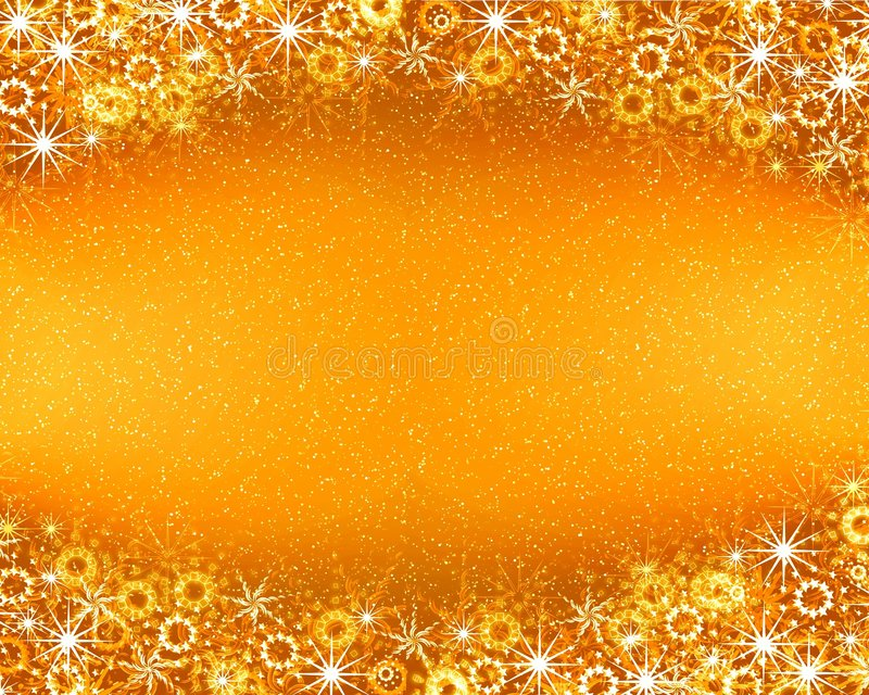 Christmas golden background royalty free stock photography