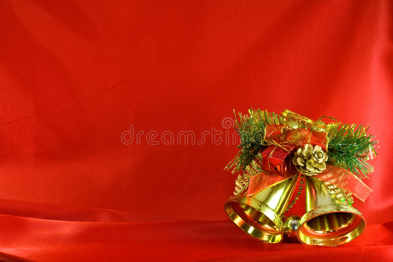 Download Christmas golden bells stock photo. Image of christmas - 11988370
