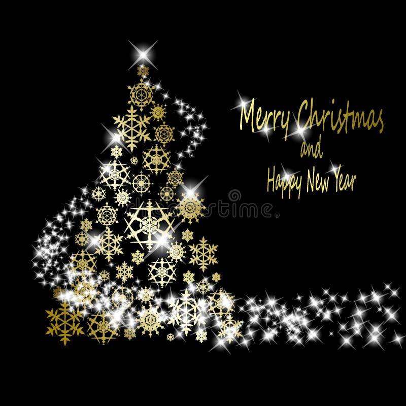 Free Christmas Golden Tree Stock Photos - 16605603