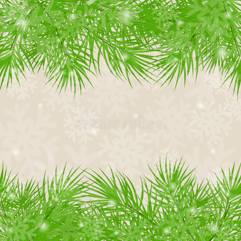 Download Christmas Green Background Christmas-tree Branches Stock Photos - Image: 27236973