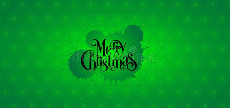 Christmas green background design. Christmas and happy new year green background design, holiday, xmas, abstract, wallpaper, illustration, snow, celebration stock photo
