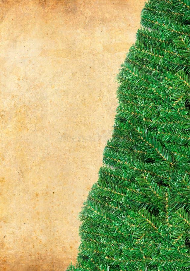 Christmas green framework with Pine needles