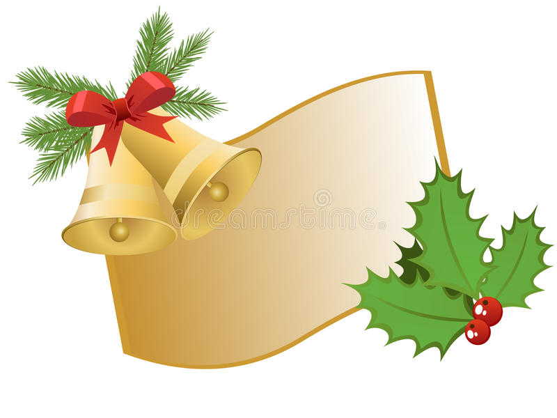 Download Christmas greeting stock vector. Image of curve, flower - 16809153