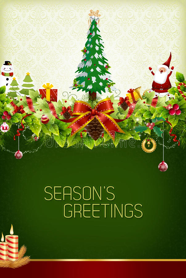 Download Christmas Greeting Royalty Free Stock Photography - Image: 17625037