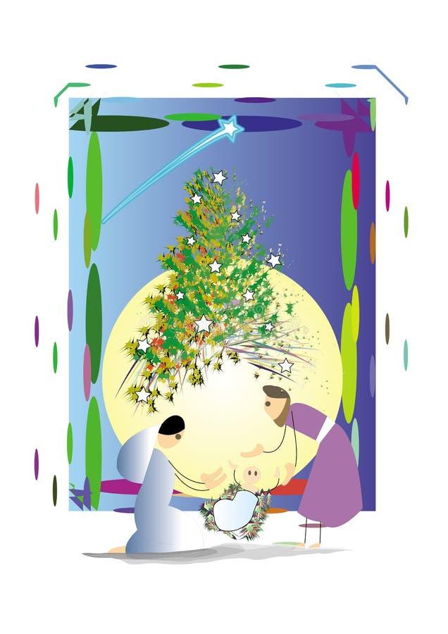 Christmas Greeting Royalty Free Stock Photo