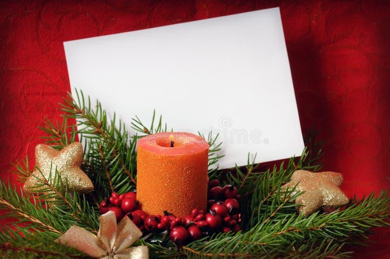Download Christmas greeting card stock photo. Image of orange - 10871512