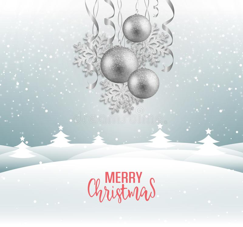 Free Christmas Greeting Card Stock Image - 131727711