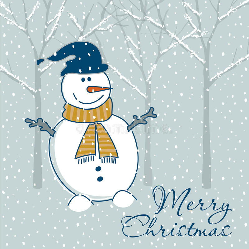 Download Christmas greeting card stock vector. Illustration of artistic - 15089851