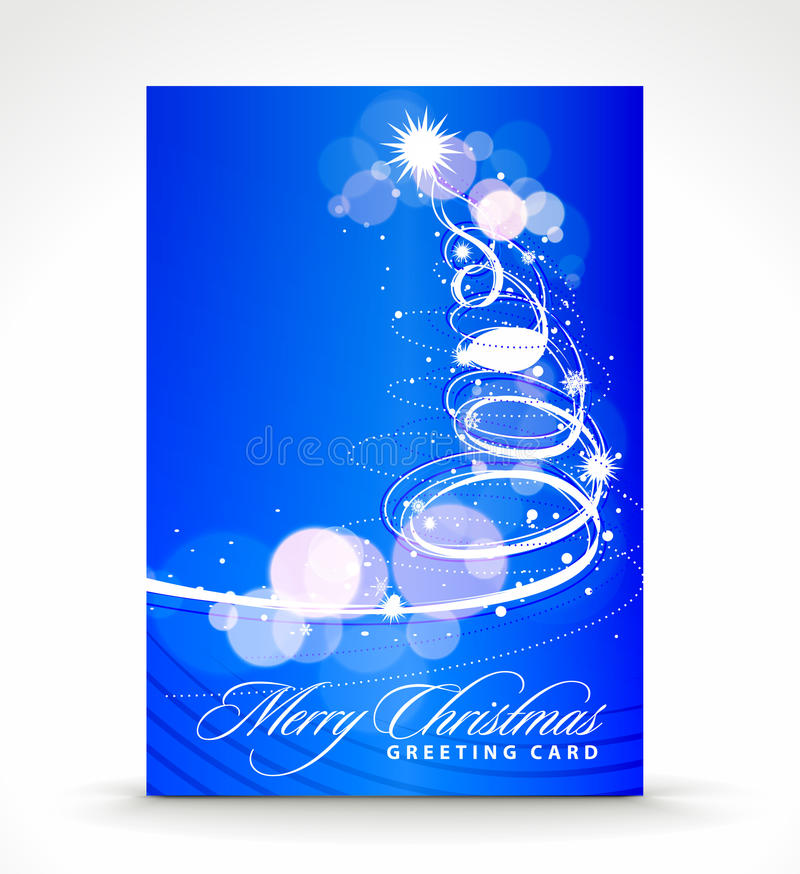 Download Christmas greeting card stock vector. Illustration of design - 16727073