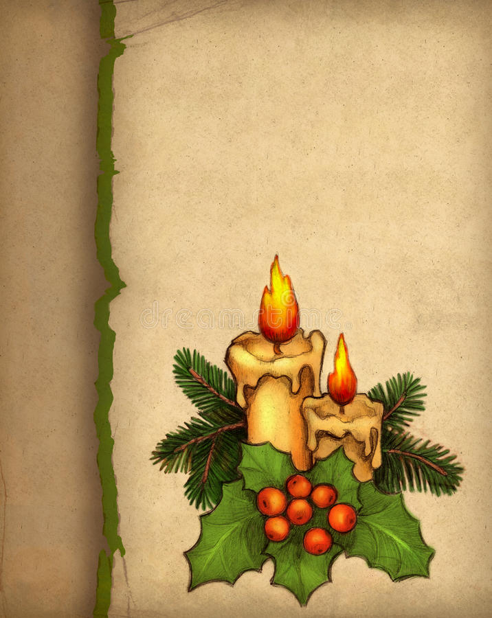 Download Christmas greeting card stock illustration. Illustration of festival - 17346616