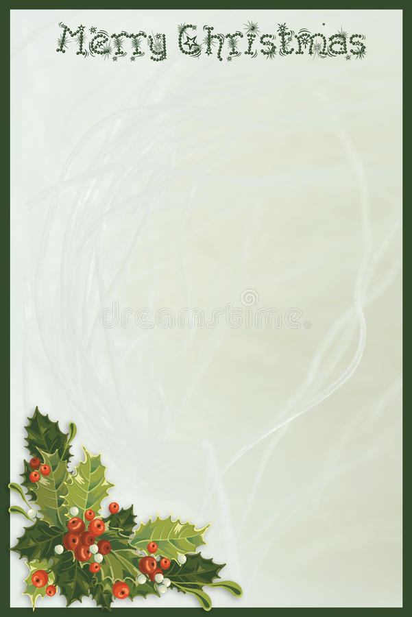 Download Christmas Greeting Card stock illustration. Image of card - 27620496