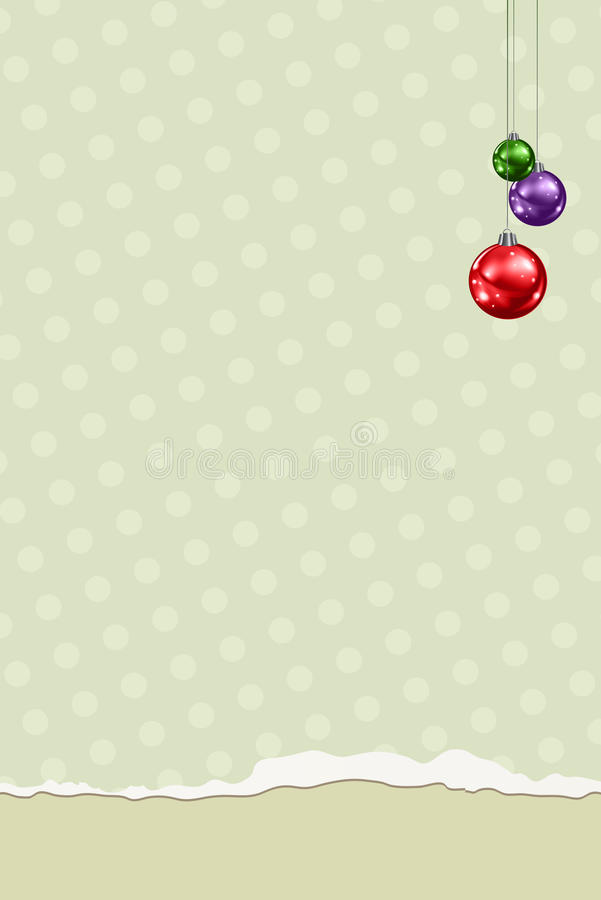 Download Christmas Greeting Card stock illustration. Illustration of artistic - 27621098