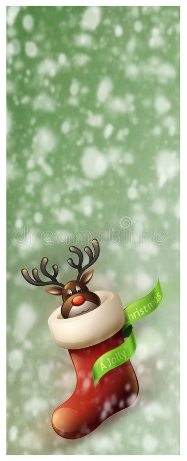 Download Christmas Greeting Card stock illustration. Illustration of seasonal - 27700121