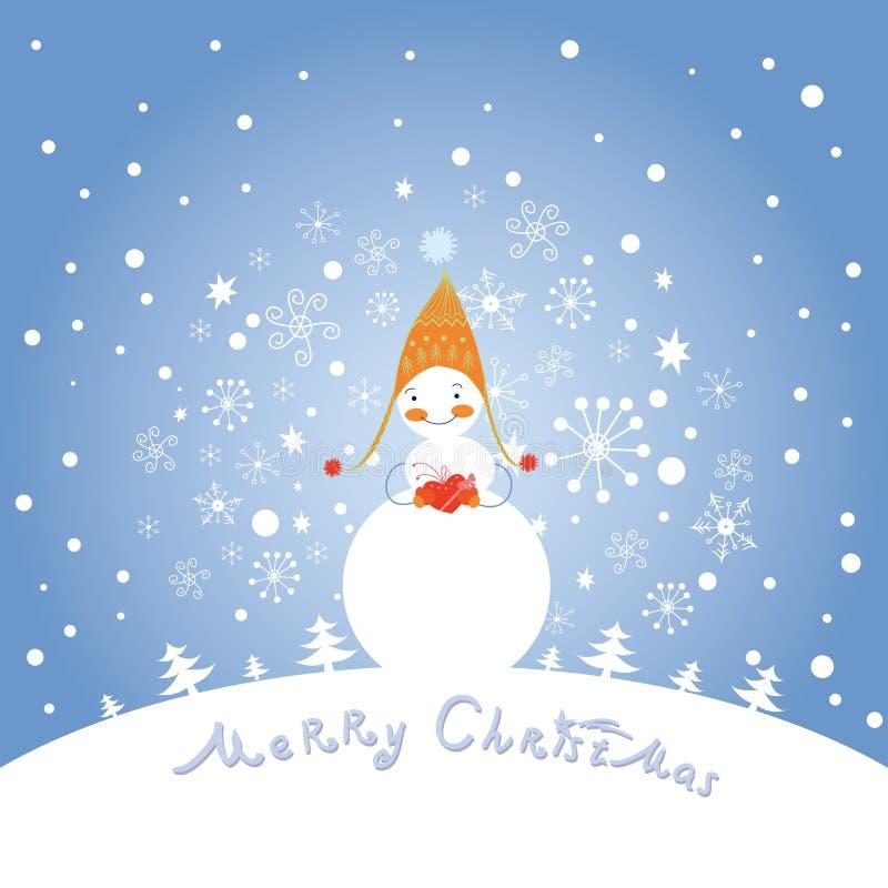 Download Christmas greeting card stock vector. Illustration of christmas - 27829361