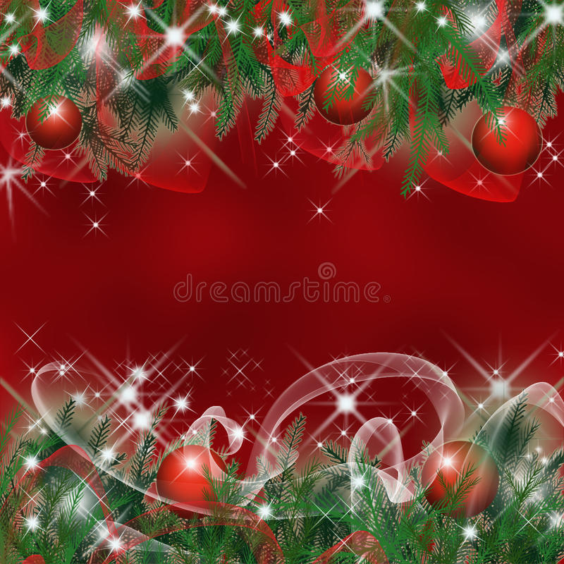 Christmas greeting card. Abstract background stock illustration