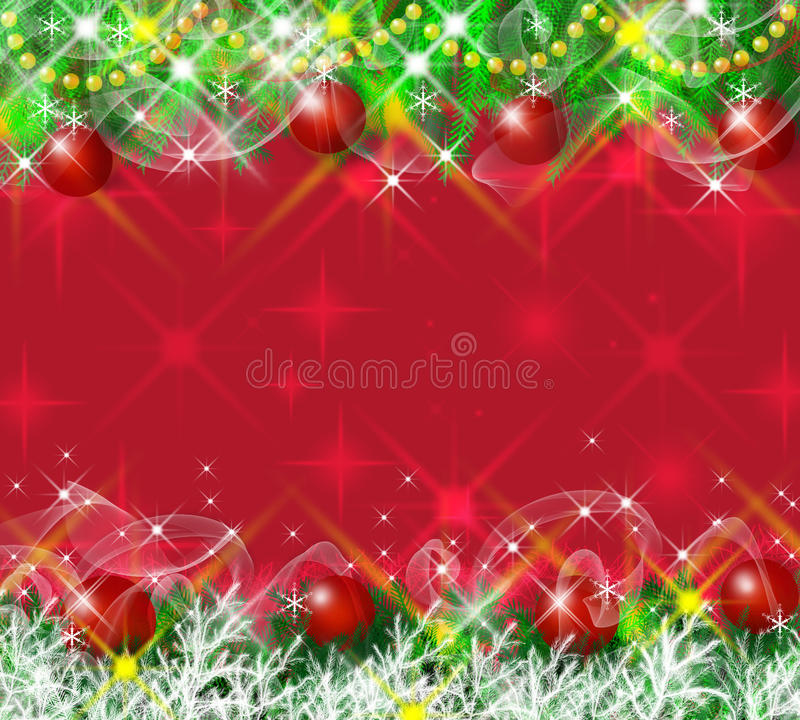 Christmas greeting card. Abstract background royalty free illustration