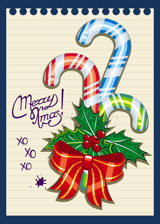 Download Christmas Greeting Stock Vector - Image: 43232673