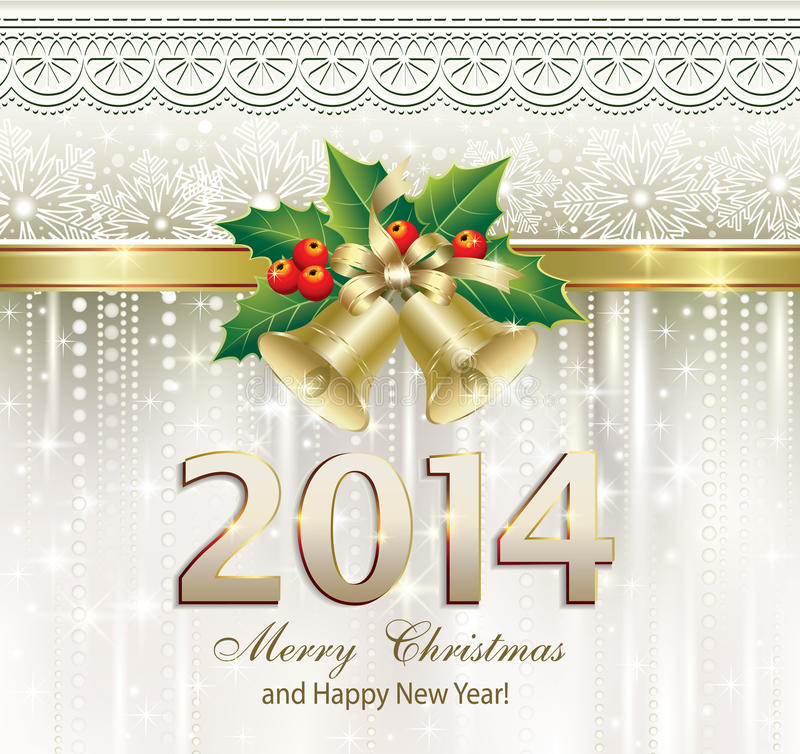 Christmas greeting card 2014 stock vector illustration of style download christmas greeting card 2014 stock vector illustration of style elegance 33851636 m4hsunfo