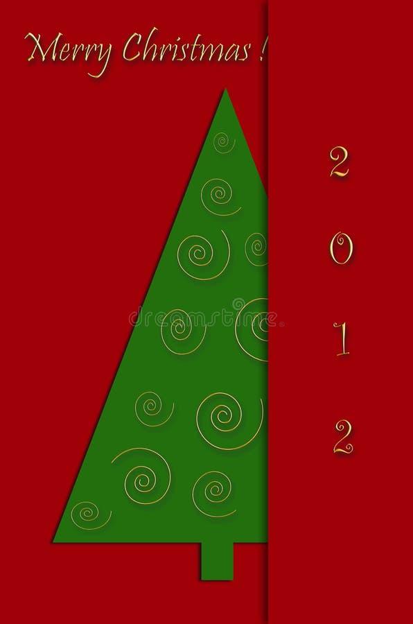 Download Christmas Greeting Card Design Stock Illustration - Image: 27905729
