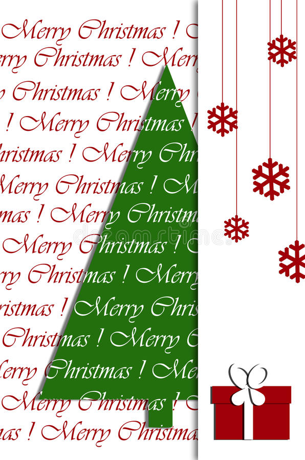 Download Christmas Greeting Card Design Stock Illustration - Illustration of artistic, holiday: 27905742