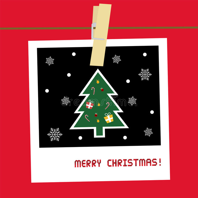 Christmas Greeting Card23 Royalty Free Stock Images