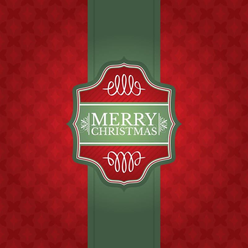 Christmas Greeting Card Stock Vector