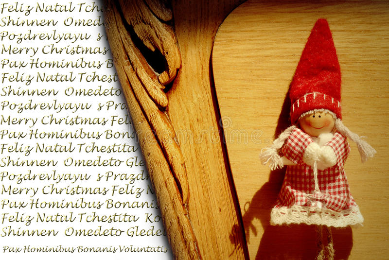 Download Christmas Greeting In Many Languages Stock Image - Image: 26847989